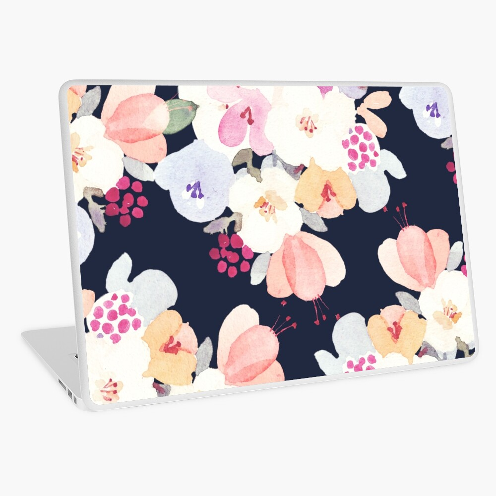 patterns Everyday   Flower of Late Summer Laptop Skin