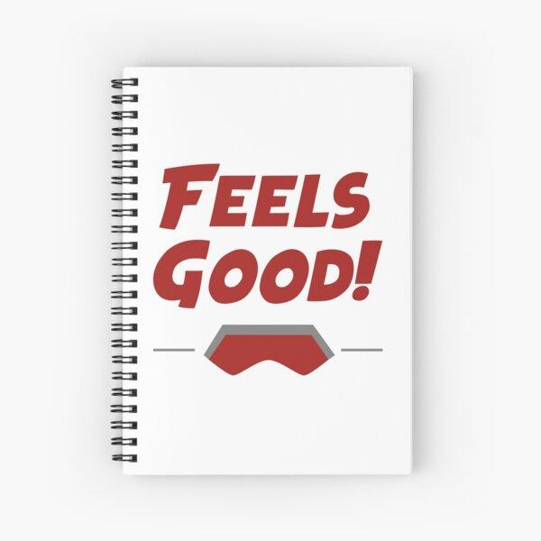 ¡Se siente bien! - Cita Cuaderno de espiral