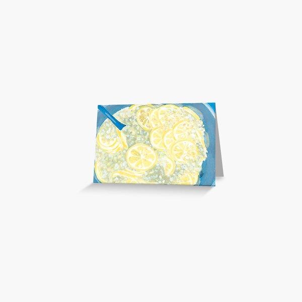 Elderflower Cordial | Hyldeblomst Saft Greeting Card
