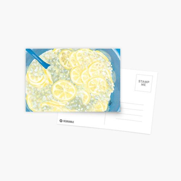 Elderflower Cordial | Hyldeblomst Saft Postcard