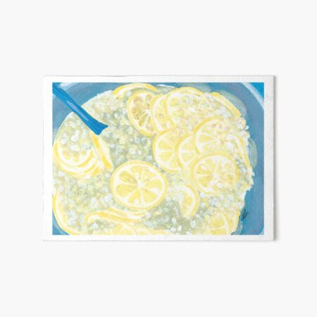 Elderflower Cordial | Hyldeblomst Saft Art Board Print