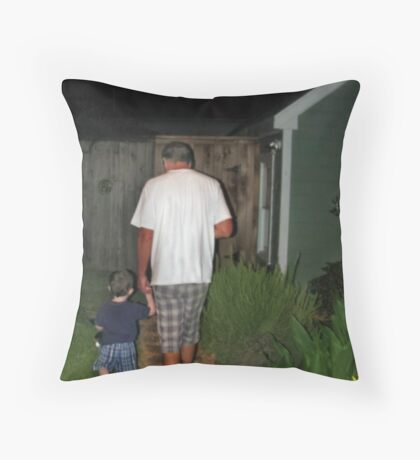 Lead me down the right path.... Throw Pillow