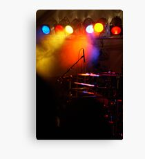 light the stage Canvas Print