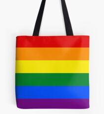 Stolz Regenbogenfahne Tote Bag