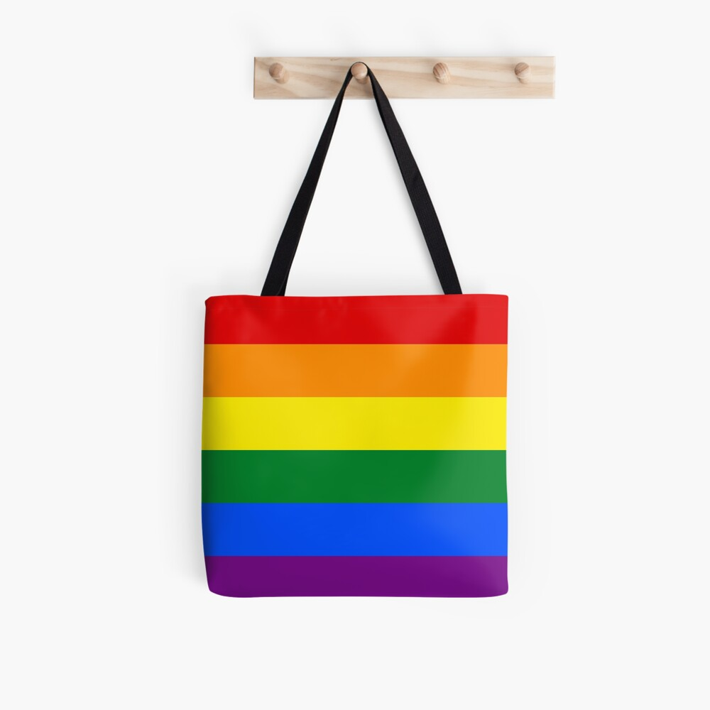 Pride rainbow flag Tote Bag