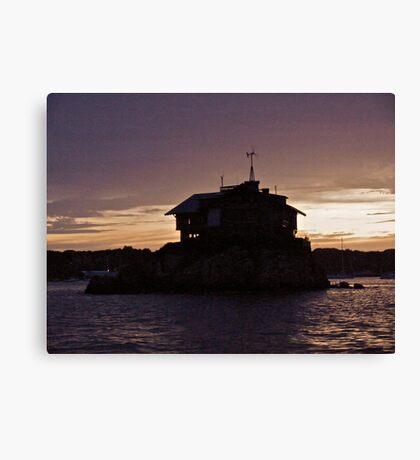 """Island House"" - Newport Harbor Series - © 2009 Canvas Print"
