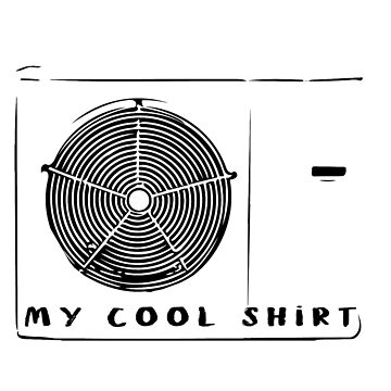 Keeps you cold, cool shirt. by SideburnJoe