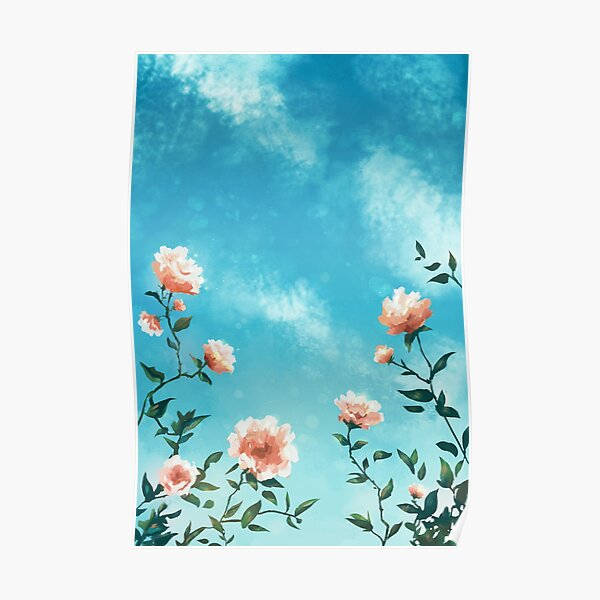 a study in flowers Poster