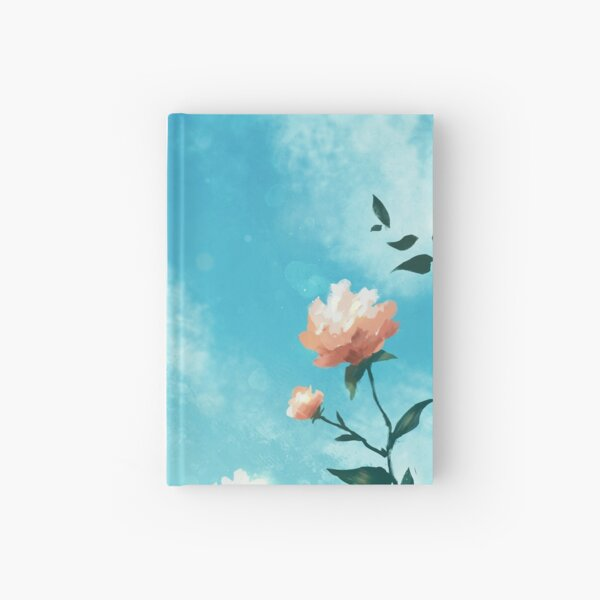 a study in flowers Hardcover Journal