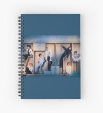 Love Yourself: Answer Group photo concept BTS Spiral Notebook