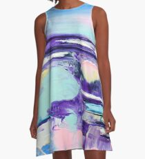 Pastel Breeze 5 A-Line Dress