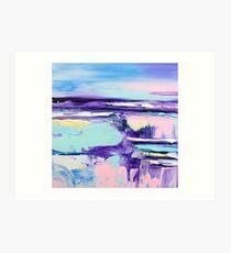 Pastel Breeze 5 Art Print