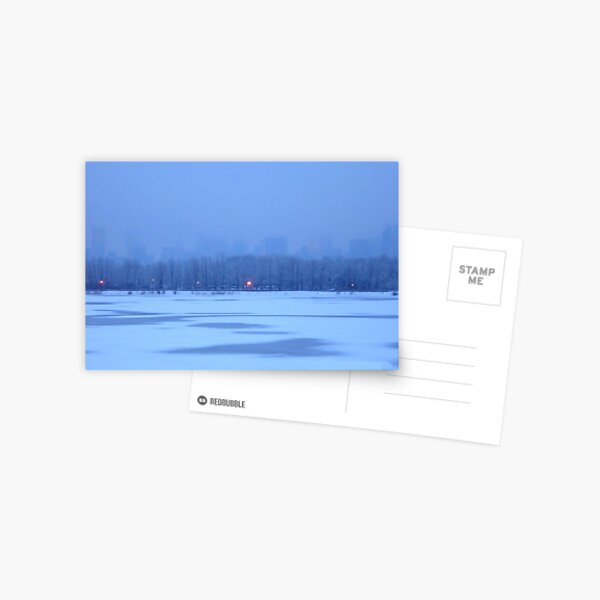 BLUE WINTER Postcard