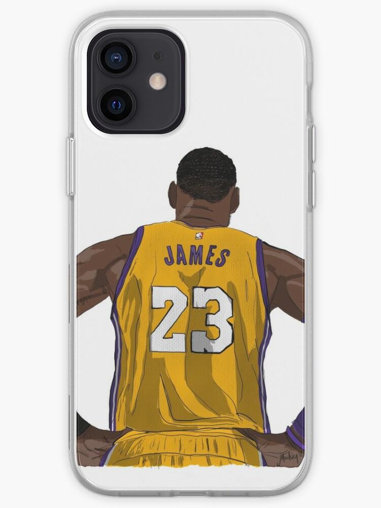 LA LeBron James   Coque iPhone