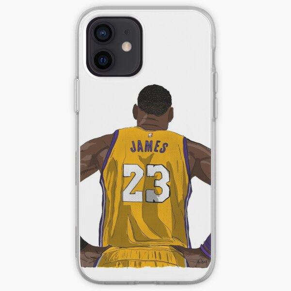 LA LeBron James Coque souple iPhone