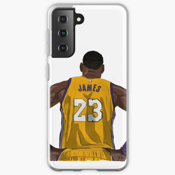 LA LeBron James Funda blanda para Samsung Galaxy