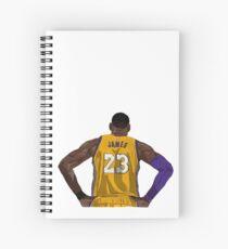 LA LeBron James Spiral Notebook