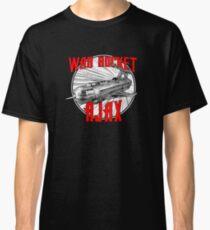 War Rocket Ajax - Inspired by Flash Gordon Classic T-Shirt