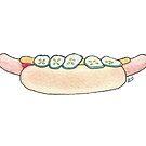 Sausages | Pølser by Gina Lorubbio
