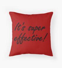 Super Effective! Throw Pillow