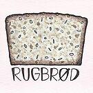 Rye Bread | Rugbrød by Gina Lorubbio