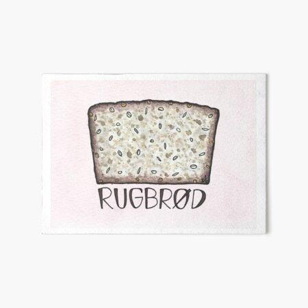Rye Bread | Rugbrød Art Board Print