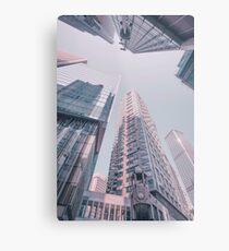 Centre-ville de Hongkong Impression métallique