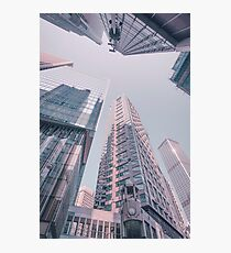 Downtown Hongkong Photographic Print