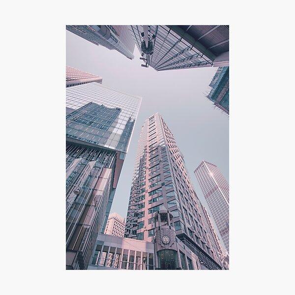 Downtown Hongkong Photographic Print