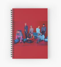 Love Yourself: Answer Group photo concept 2 BTS Spiral Notebook