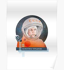 Valentina Tereshkova, Kosmonauta Poster