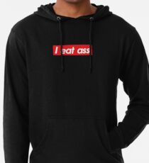 I eat ass Lightweight Hoodie