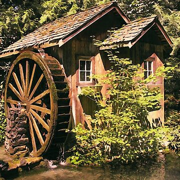 An old watermill  by ErianAndre