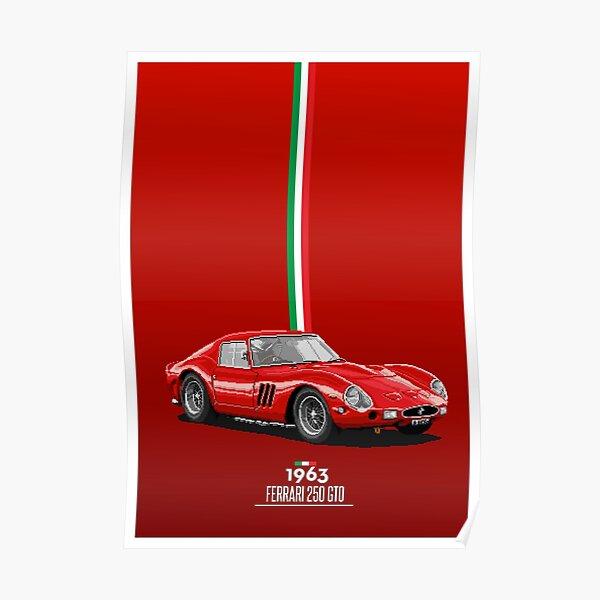 """FERRARI 250 GTO 1963 """"Légende"""" Poster"""