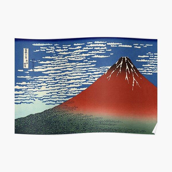 Red Fuji Poster