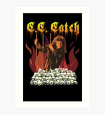 C. C. Metal Catch Art Print