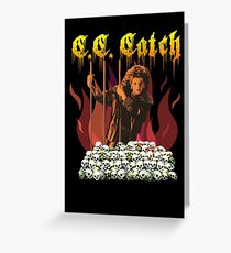 C. C. Metal Catch Greeting Card