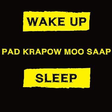 Pad Krapow Moo Saap Lover  by robcubbon