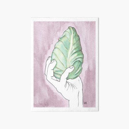 Cone Cabbage | Spidskål Art Board Print