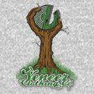 GREEN LOGOS GROW ON TREES by veneer