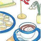 Birthday Buns & Hot Chocolate | Fødselsdagsboller & Varm Kakao by Gina Lorubbio