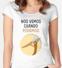See you when we can Women's Fitted Scoop T-Shirt