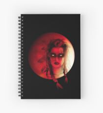 Bloodmoon Tribe Spiral Notebook