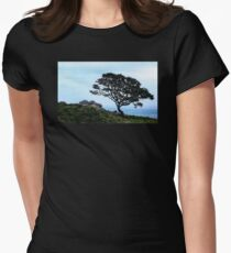 Boughing To Nature Women's Fitted T-Shirt