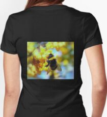 BUMBLE Women's Fitted T-Shirt