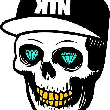 Kill The Noise Skull by TheDarkKRONOS