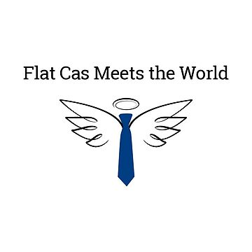 Flat Cas Meets the World by LCerezo