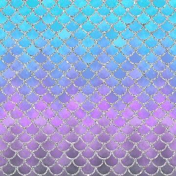 Modern Mermaid Scales 01 by artlovepassion