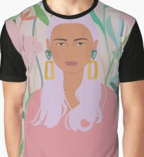 Alice in Bloom Graphic T-Shirt