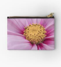 Pink Cosmos Flower Studio Pouch